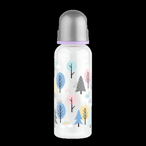 Бутылочка с силиконовой соской 250 мл.