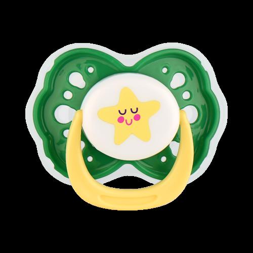 Соска-Пустышка силиконовая с круглым соском