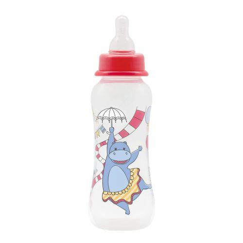 Бутылочка для кормления с соской молочной Just Lubby